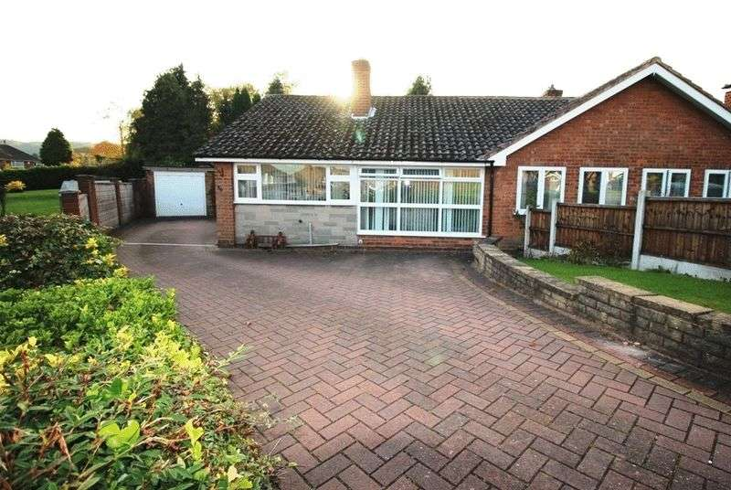 2 Bedrooms Semi Detached Bungalow for sale in Tynedale Crescent, Ettingshall Park