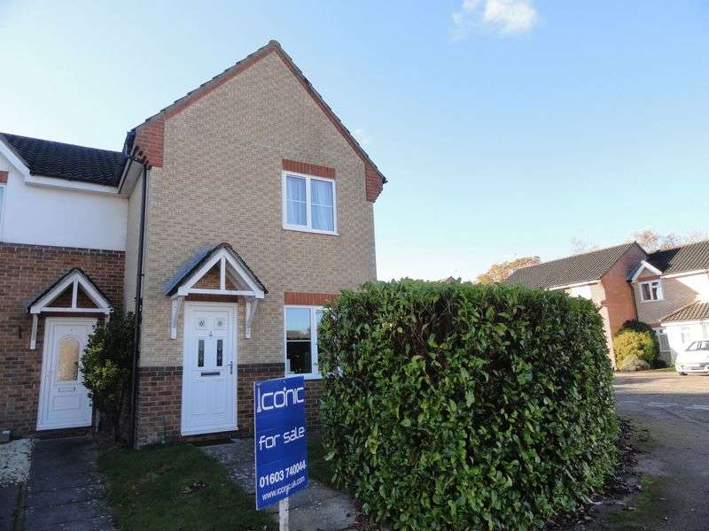 2 Bedrooms Terraced House for sale in The Fallows, Taverham, Norwich