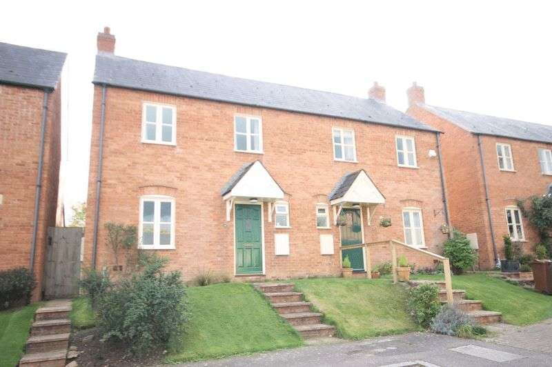 3 Bedrooms Semi Detached House for sale in STEEPLE ASTON