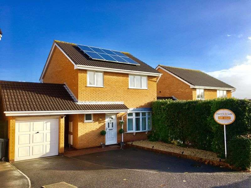 4 Bedrooms Detached House for sale in Southdown, Worle, Weston-Super-Mare