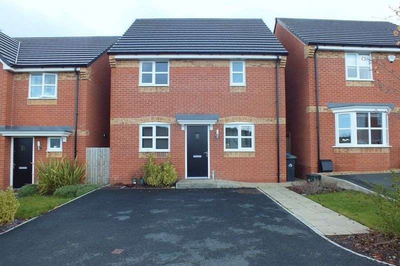3 Bedrooms Detached House for sale in Sandiacre Avenue, Sandyford, Stoke-On-Trent