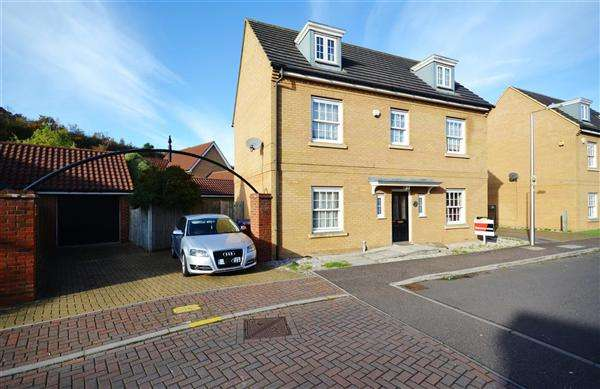 5 Bedrooms Detached House for sale in Sachfield Drive, Chafford Hundred