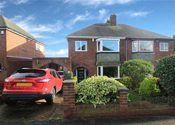 3 Bedrooms Semi Detached House for sale in Cottam Croft, Hemsworth