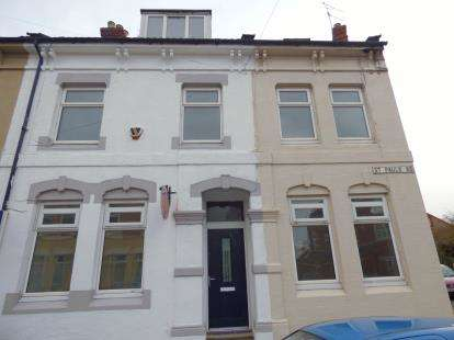 6 Bedrooms Terraced House for sale in St. Pauls Road, Northampton, Northamptonshire, Northants