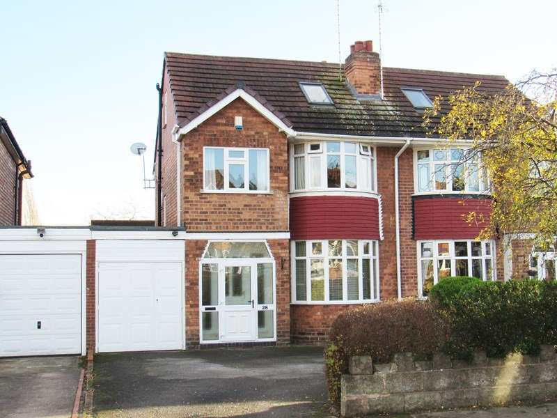4 Bedrooms Semi Detached House for sale in Keswick Road, Solihull