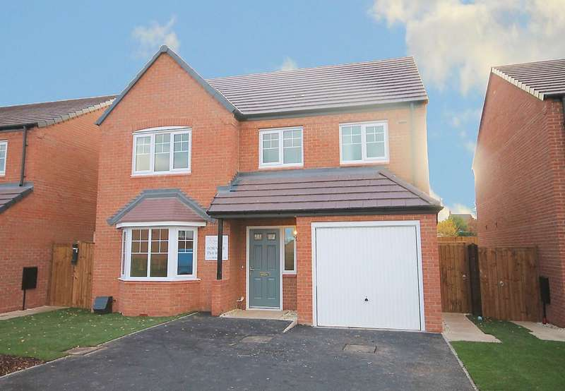 4 Bedrooms Detached House for sale in The Yoxall, Penmire Rise, Spon Lane, Grendon, CV9 2EX