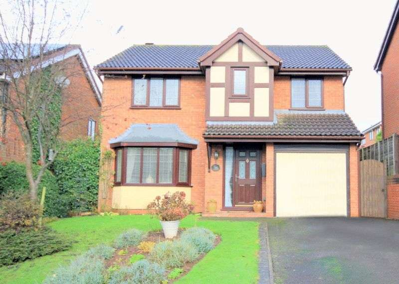 4 Bedrooms Detached House for sale in Ambleside Close, Stone