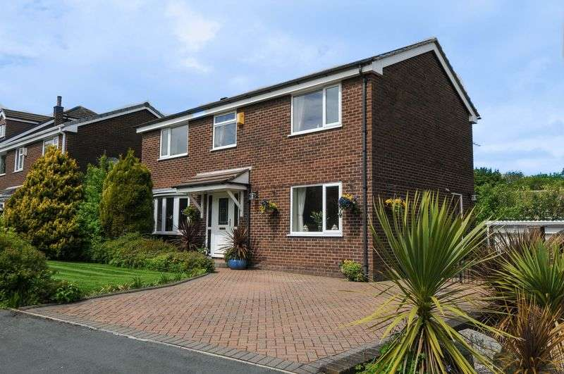 4 Bedrooms Detached House for sale in Silsbury Grove, Standish