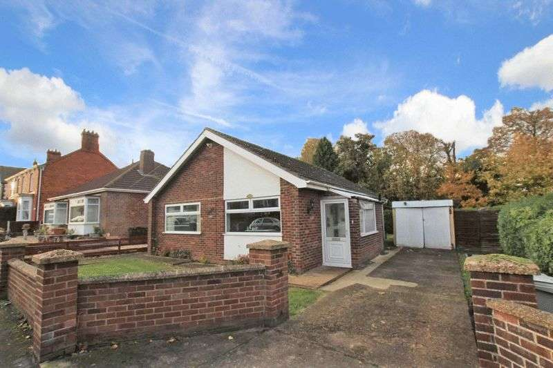 2 Bedrooms Detached Bungalow for sale in EASTFIELD ROAD, LOUTH
