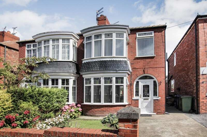 3 Bedrooms Semi Detached House for sale in Durham Road, Redcar