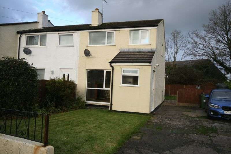 3 Bedrooms Terraced House for sale in Tyn Rhos Estate, Gaerwen