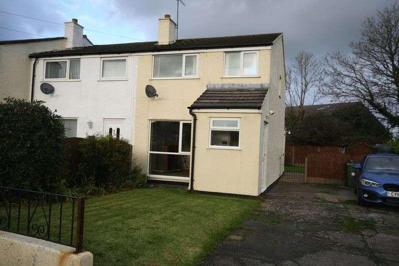 3 Bedrooms Terraced House for sale in Tyn Rhos Estate, Gaerwen