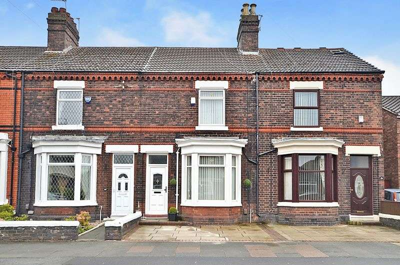 3 Bedrooms Terraced House for sale in Derby Road, Widnes