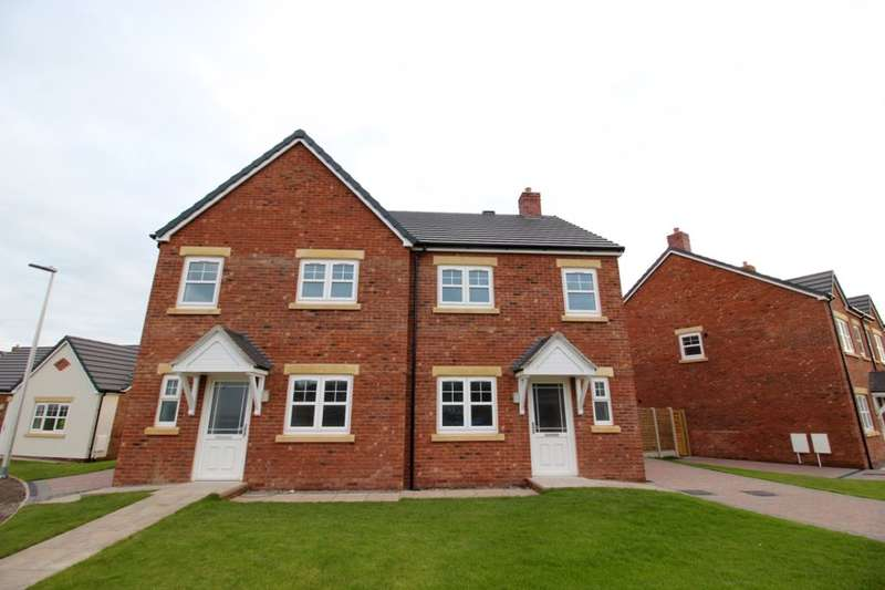 3 Bedrooms Semi Detached House for sale in Harvest Park, Silloth, Wigton, CA7