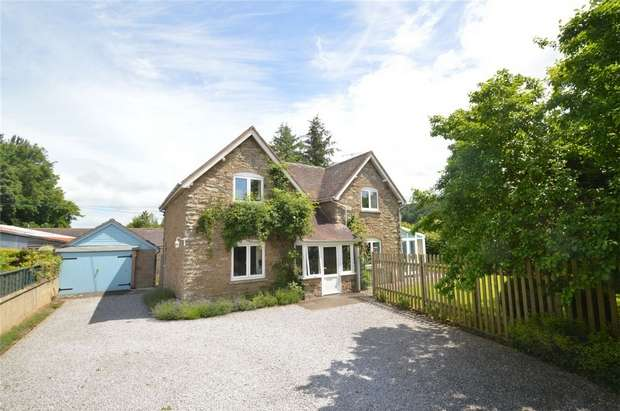 4 Bedrooms Detached House for sale in The Fold, Bucknell, Shropshire