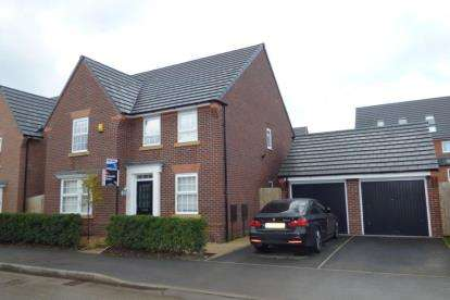 4 Bedrooms Detached House for sale in Oklahoma Boulevard, Chapelford Village, Warrington, Cheshire