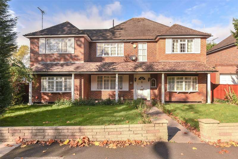 5 Bedrooms House for sale in Royston Park Road, Hatch End, Middlesex, HA5