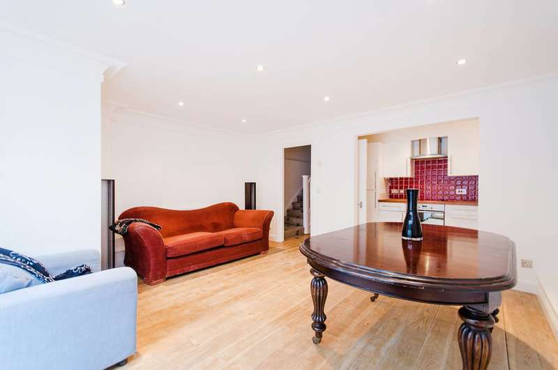 2 Bedrooms Maisonette Flat for sale in Wandsworth Bridge Road, Fulham Broadway, SW6