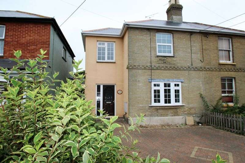 3 Bedrooms Semi Detached House for sale in New Road, Ryde