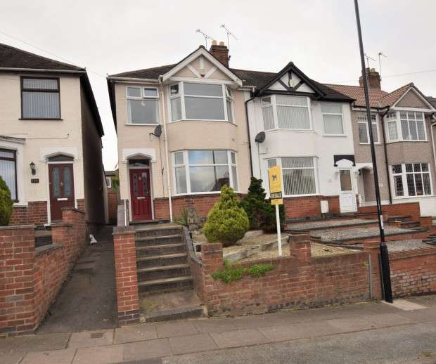 3 Bedrooms End Of Terrace House for sale in Dulverton Avenue, Coundon, Coventry, CV5