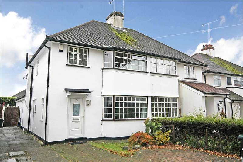 3 Bedrooms Semi Detached House for sale in Oyster Lane, Byfleet, West Byfleet, Surrey, KT14