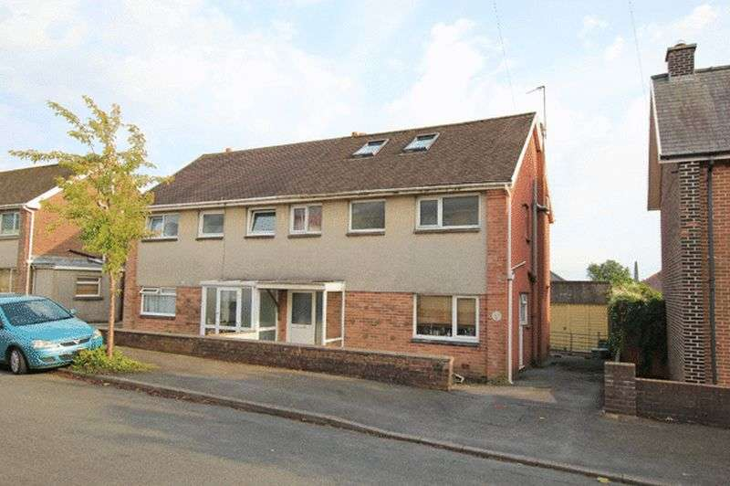 4 Bedrooms Semi Detached House for sale in STEELE AVENUE, CARMARTHEN