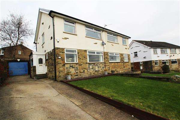 3 Bedrooms Semi Detached House for sale in Higher Brockwell, Sowerby Bridge