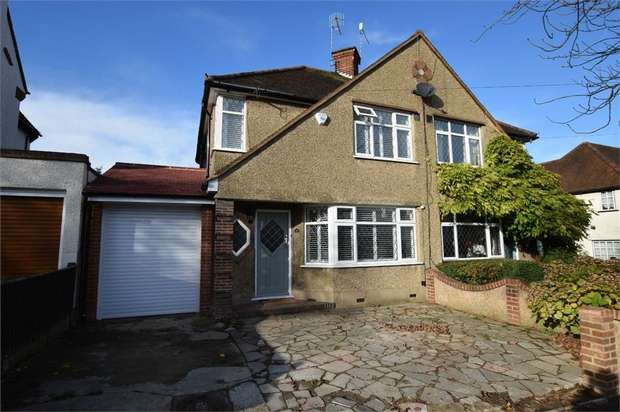 3 Bedrooms Semi Detached House for sale in Bournehall Avenue, BUSHEY, Hertfordshire