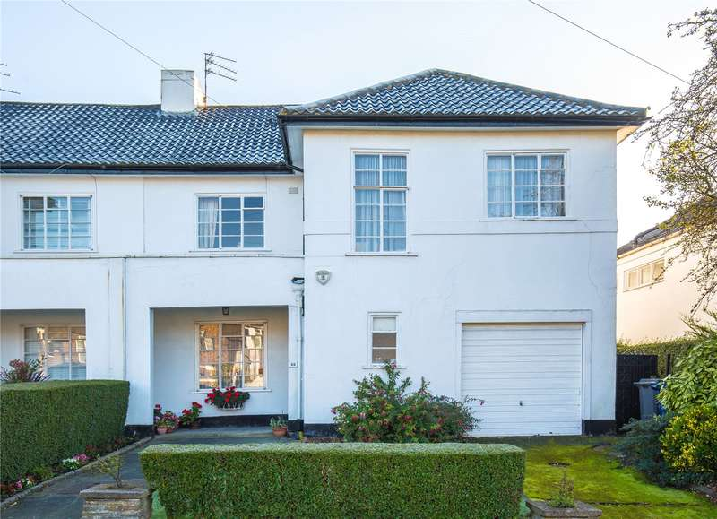 4 Bedrooms Semi Detached House for sale in Ossulton Way, Hampstead Garden Suburb, London, N2
