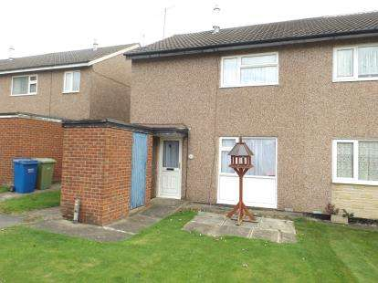 2 Bedrooms Semi Detached House for sale in Farm Close, Chesterfield, Derbyshire