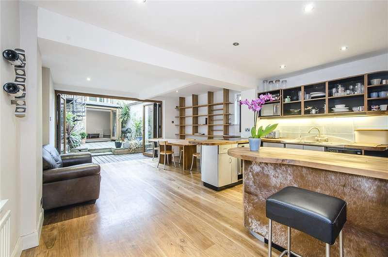 4 Bedrooms Detached House for sale in Clapham Common North Side, London, SW4