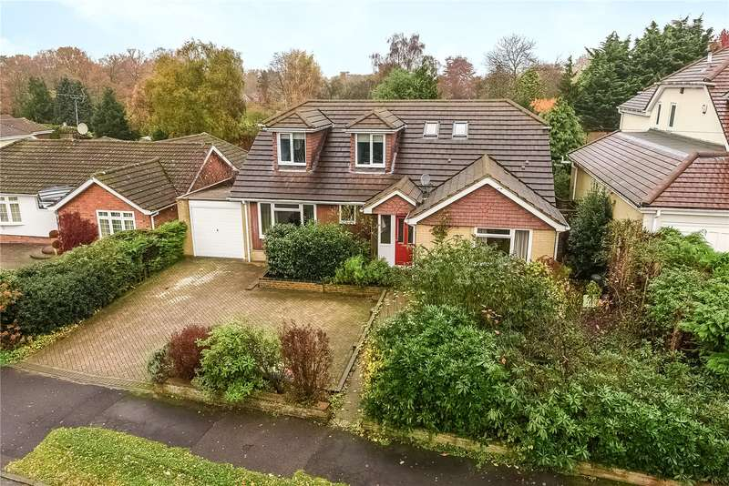 4 Bedrooms Detached Bungalow for sale in Windsor Ride, Finchampstead, Wokingham, Berkshire, RG40