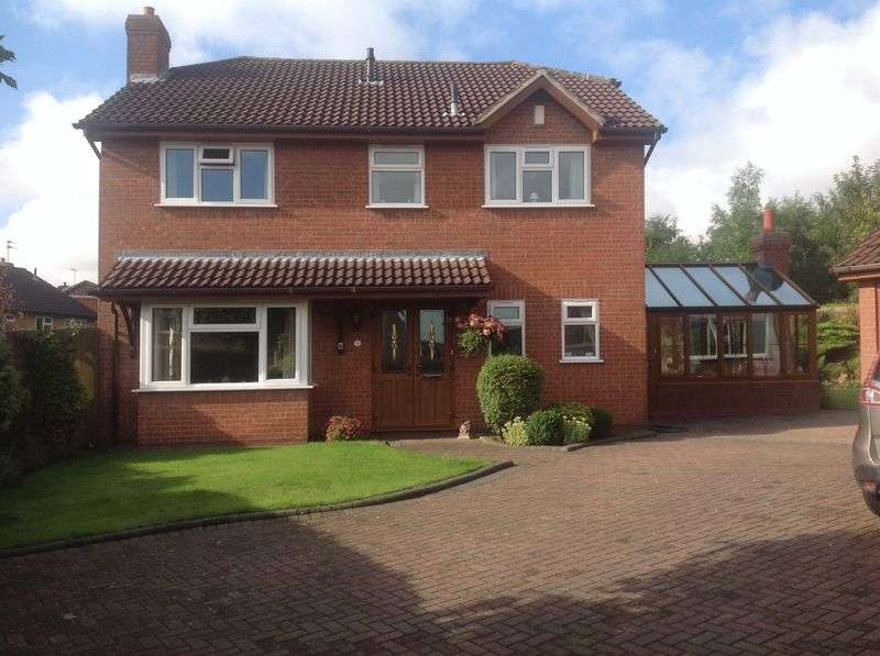 4 Bedrooms Detached House for sale in Tintagel Close, Stretton