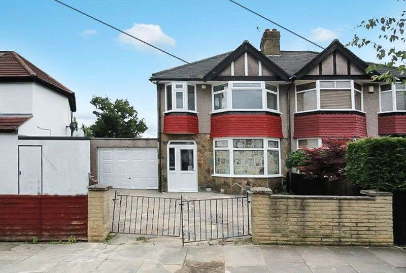 3 Bedrooms Semi Detached House for sale in Rectory Gardens, Northolt