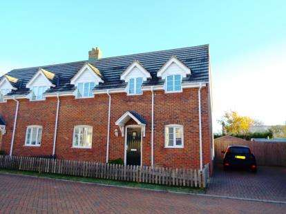 3 Bedrooms Semi Detached House for sale in Sutton, Ely, Cambridgeshire