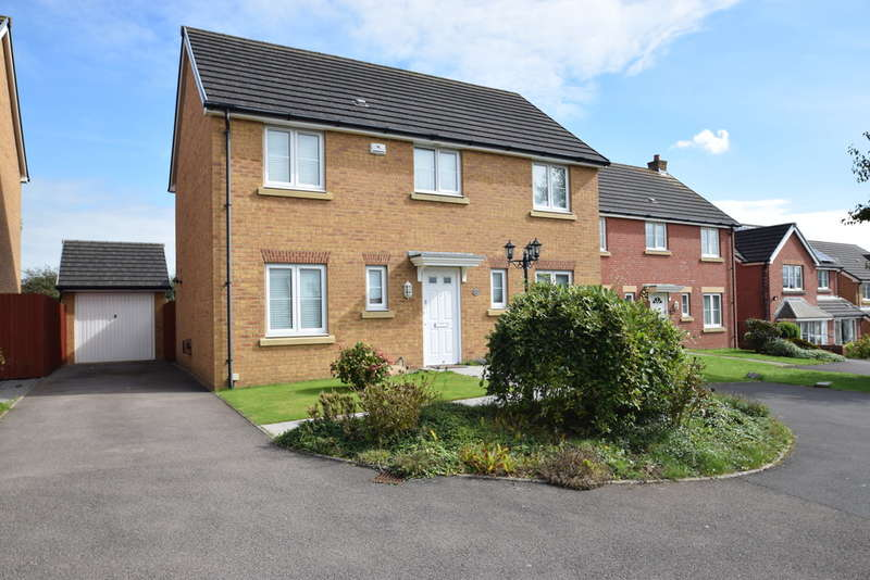 4 Bedrooms Detached House for sale in 43 Skylark Road, North Cornelly, Bridgend, Bridgend County Borough, CF33 4PD