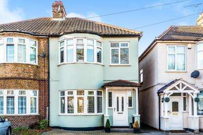 3 Bedrooms Semi Detached House for sale in Havering-Atte-Bower, Romford, Essex