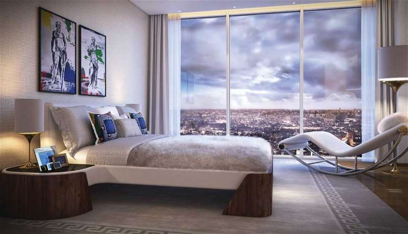 3 Bedrooms Property for sale in Aykon Nine Elms, Nine Elms, London, SW8
