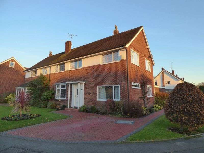 4 Bedrooms Semi Detached House for sale in Hope Avenue, Wilmslow