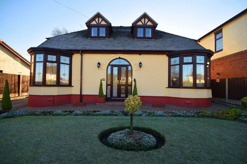 4 Bedrooms Detached Bungalow for sale in Milton Road, Sneyd Green