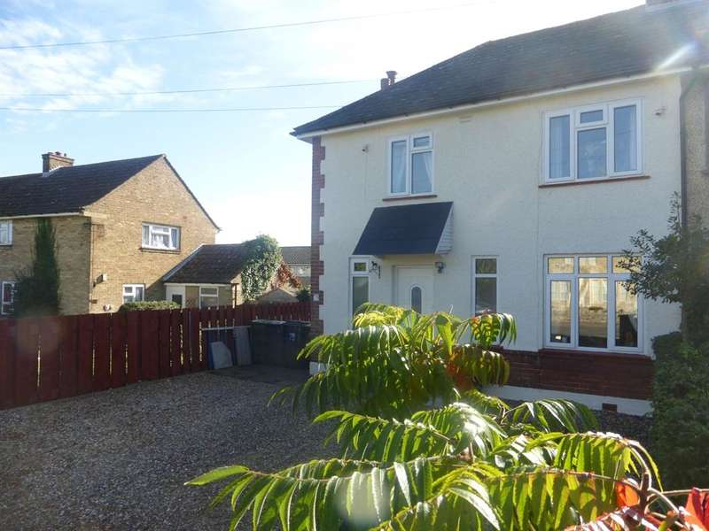 3 Bedrooms Semi Detached House for sale in High Street, Stagsden, BEDFORD, MK43
