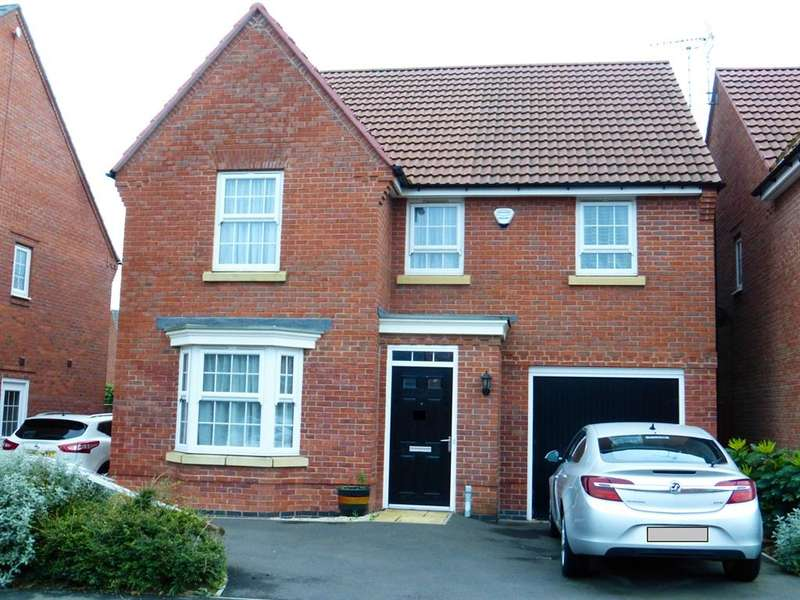 4 Bedrooms Detached House for sale in Camdale Lane, Fernwood, NEWARK, NG24