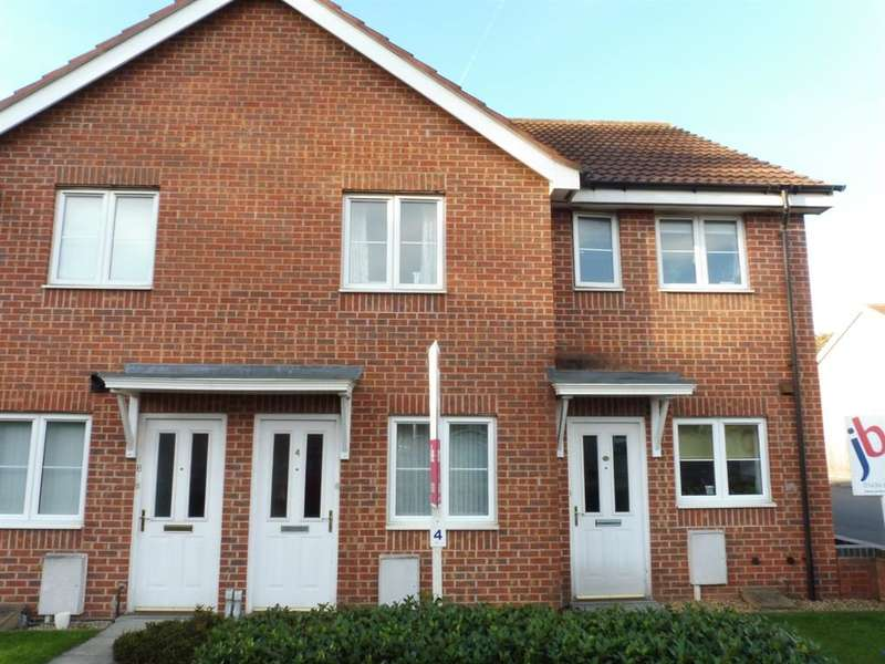 2 Bedrooms Flat for sale in Ainsdale Close, Fernwood, Newark, NG24