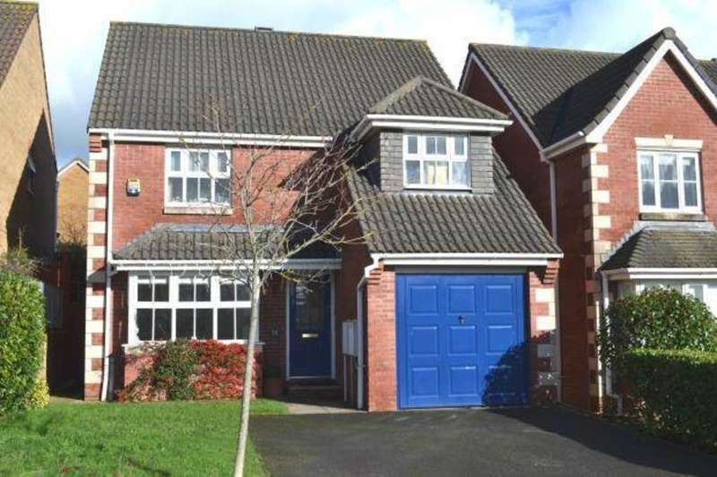 4 Bedrooms Detached House for sale in Westacott Meadow, Barnstaple
