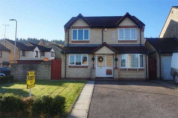 4 Bedrooms Detached House for sale in Lavender Way, ROGERSTONE, Newport