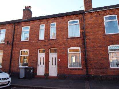 2 Bedrooms House for sale in Hulme Street, Crewe, Cheshire