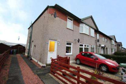 2 Bedrooms Flat for sale in Chirnside Road, Glasgow, Lanarkshire