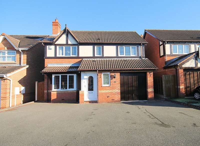 4 Bedrooms Detached House for sale in Stonehaven, Amington, B77 3QX