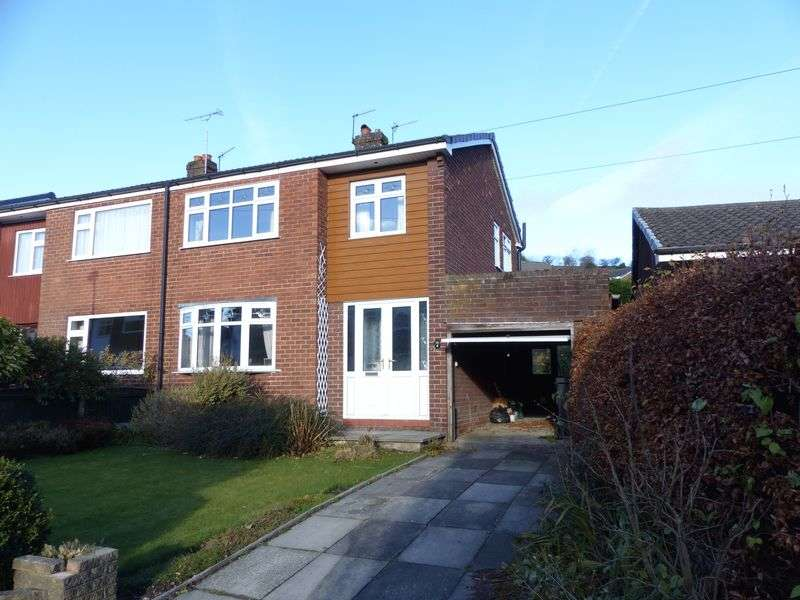 3 Bedrooms Semi Detached House for sale in Brookfield, High Crompton, Shaw