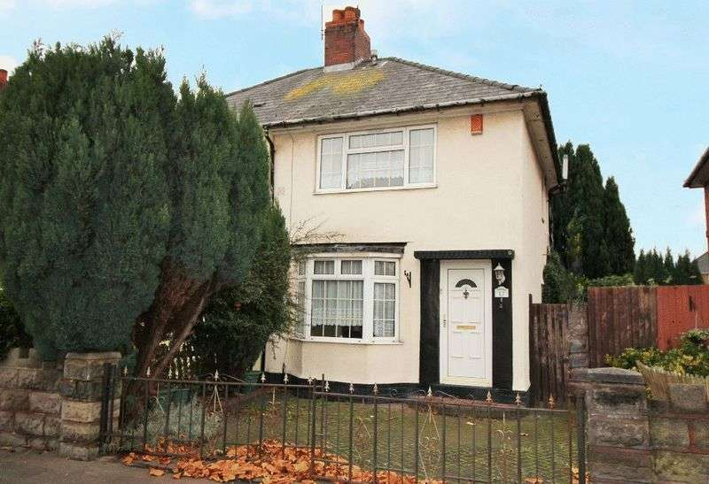 2 Bedrooms Semi Detached House for sale in Margaret Road, Wednesbury